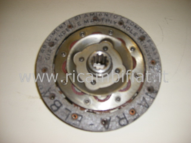 743862 - clutch disc 10 splines